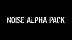Noise Alpha Pack Stock After Effects