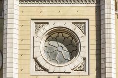 Lutheran Church Window - stock photo