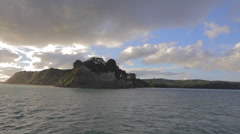 A view returning back from Waiheke Island on the boat Stock Footage