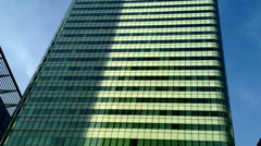 HSBC Tower - London - 14th March: 8 Canada Square Stock Footage