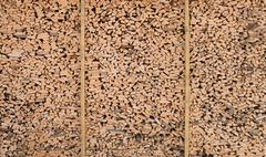 woodshed huge texture - stock photo