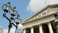 Stock Video Footage of The Royal Exchange, London
