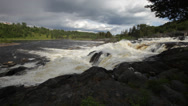 Stock Video Footage of Cascading white water river