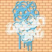 Stock Illustration of Urban Graffiti