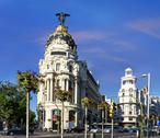 Stock Photo of metropolis building, madrid