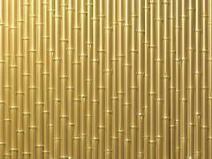 Bamboo wall Stock Illustration