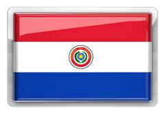 paraguay - stock illustration