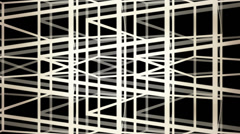 Abstract background made from lines of stacked cubes Stock Footage