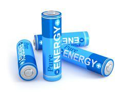Pure energy - stock illustration