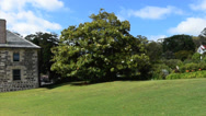 Stock Video Footage of Kerikeri Mission Station Kemp House NZ