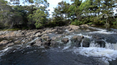 Kerikeri Waterfalls Nature Reserve, Northland, New Zealand Stock Footage