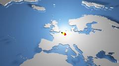 4K Belgium 1 Stock Footage