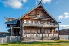 Stock Photo of Museum of wooden architecture. Russia