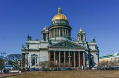 Stock Photo of Saint Isaac's Cathedral