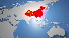 4K China 1 Stock Footage