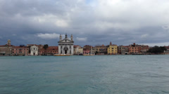 0301 Venice in a stormy day Stock Footage