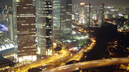 Stock Video Footage of Singapore Skyline