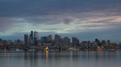 Stock Video Footage of Seattle cityscape