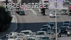 Traffic Camera 4158 Stock Footage
