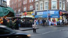 Electric Avenue - Brixton - London Stock Footage