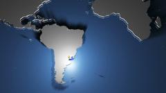 Uruguay 1 - stock footage