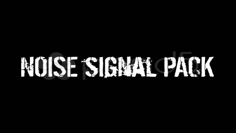 After Effects Project - Pond5 Noise Signal Pack 36597581