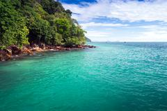 kho ngai island in trang, thailand - stock photo