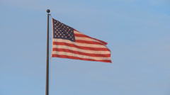American Flag - stock footage