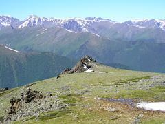 mountains altai - stock photo