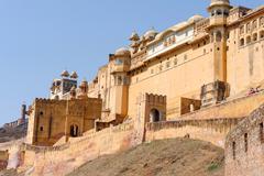 Amber Palace, Jaipur, India - stock photo