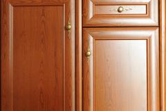 Brown  cupboard Stock Photos