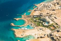 Hurghada Coast. Egypt - stock photo