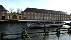 From Copenhagen harbour Stock Footage