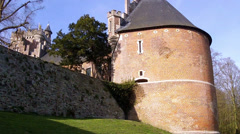 Gaasbeek Castle. Stock Footage