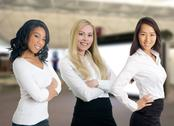 Stock Photo of group of diverse business women