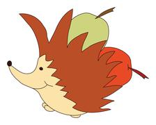 Hedgehog Stock Illustration