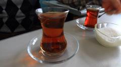 Delicious Tea Stock Footage