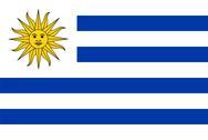 Stock Photo of Flag of Uruguay