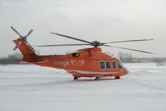 ORNGE Helicopter 4 Stock Photos
