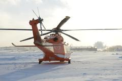 ORNGE Helicopter 3 Stock Photos