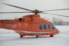 ORNGE Helicopter 1 Stock Photos