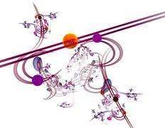 Coloured background Stock Illustration