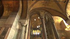 Hagia Sophia Museum, Ayasofya Istanbul Stock Footage