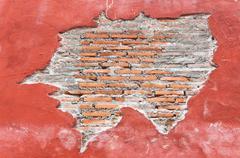 old brick pattern - stock photo