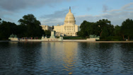 Stock Video Footage of US Capitol Building, Washington DC