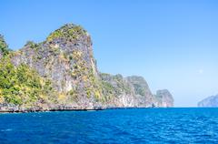 Koh phi phi national park in krabi, thailand Stock Photos