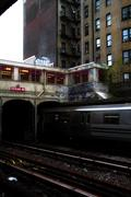 Subway Stop Graffiti Brooklyn, New York City Kuvituskuvat