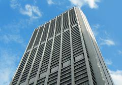 Modern Office Tower Building Stock Photos