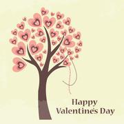 saint valentine's day card - stock illustration