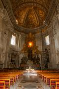 St. peter s cathedral, vatican city. italy Stock Photos